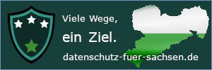 Datenschutz für Sachsen